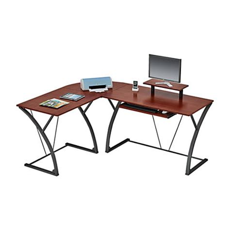 z line glass computer desk z line designs khloe l shaped glass computer desk espresso