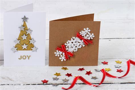 craft greeting card how to make a cracker card hobbycraft
