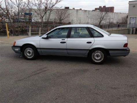1986 Ford Taurus by Sell Used 1986 Ford Taurus 55 130 Original