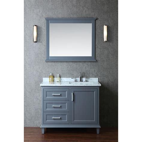 single sink bathroom vanity ariel by seacliff nantucket 42 quot single sink bathroom