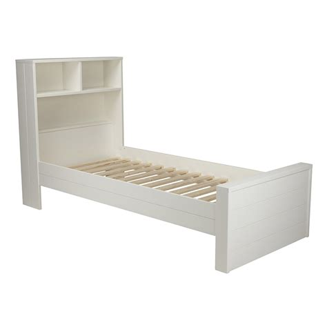 Best Kids Bedrooms max contemporary white single bed with headboard storage