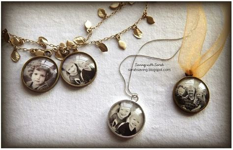 photo jewelry saving with diy photo pendant for 2 50