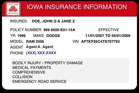 insurance cards templates resume builder
