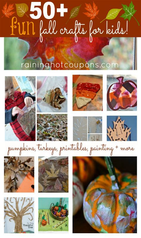 cool fall crafts for 50 fall crafts for