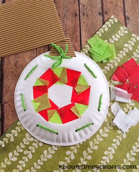 paper plate ornaments paper plate ornament decoration about family