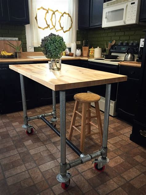 industrial kitchen island 25 industrial kitchen islands to make a statement digsdigs