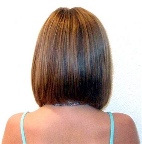 pictures of the back of shoulder lenth hair long angled bob haircuts back view rebecca for hair