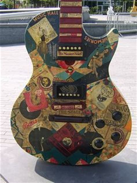 how to decoupage a guitar easy to make comic book guitar design how to decoupage