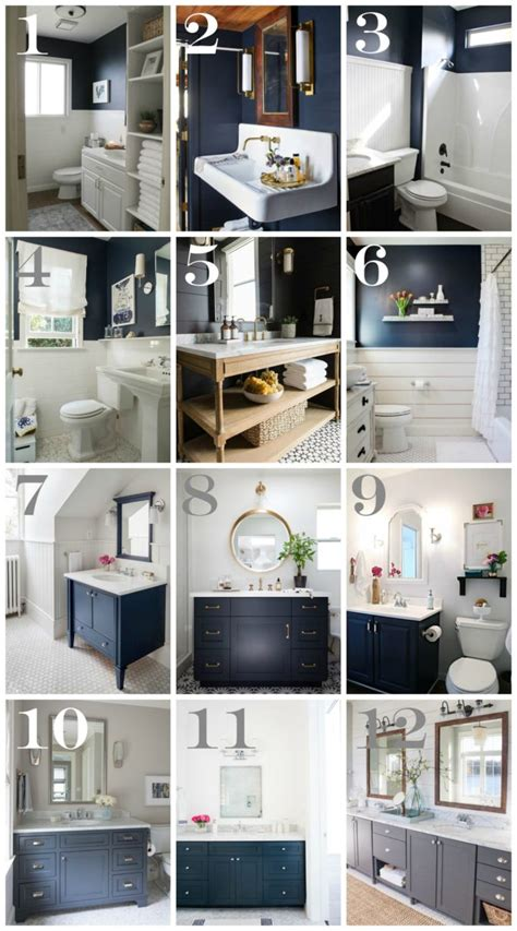 bathroom wall decorating ideas navy bathroom decorating ideas