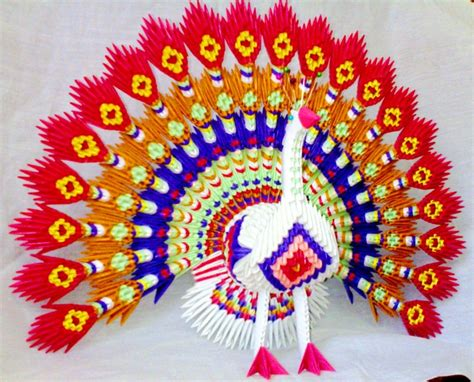 3d origami peacock peacock album mohammad nofal 3d origami