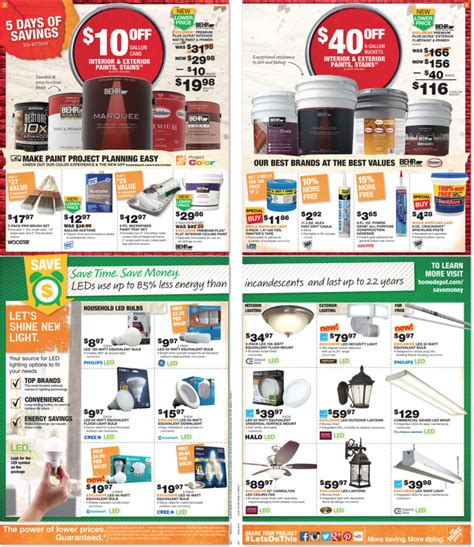 home depot paint sale labor day home depot labor day sale 2017 after sales 2017