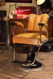 ancien miroir tryptique avec chainette barbier coiffeur mirrors