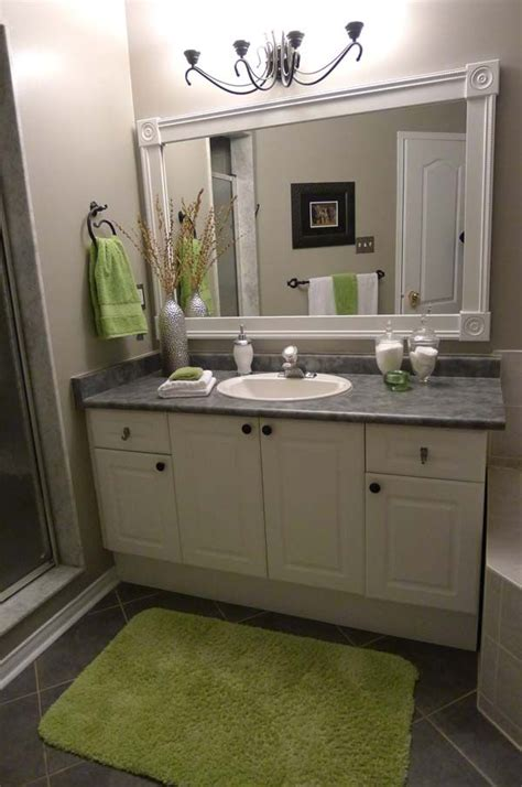 mirror frames bathroom best 20 frame bathroom mirrors ideas on