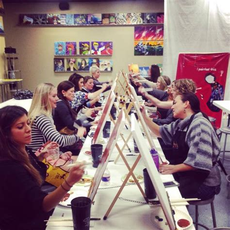 paint with a twist calendar painting with a twist lakeway style