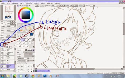 paint tool sai itu apa animanga otaku live paint tool sai software praktis