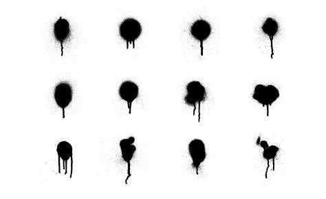 spray paint brush illustrator adobe illustrator vectors set 2 by go media