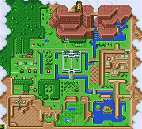 a link to the past a link to the past map