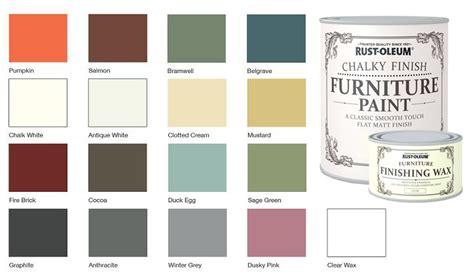 chalk paint uk colours rust oleum chalk chalky colour chart remake furniture