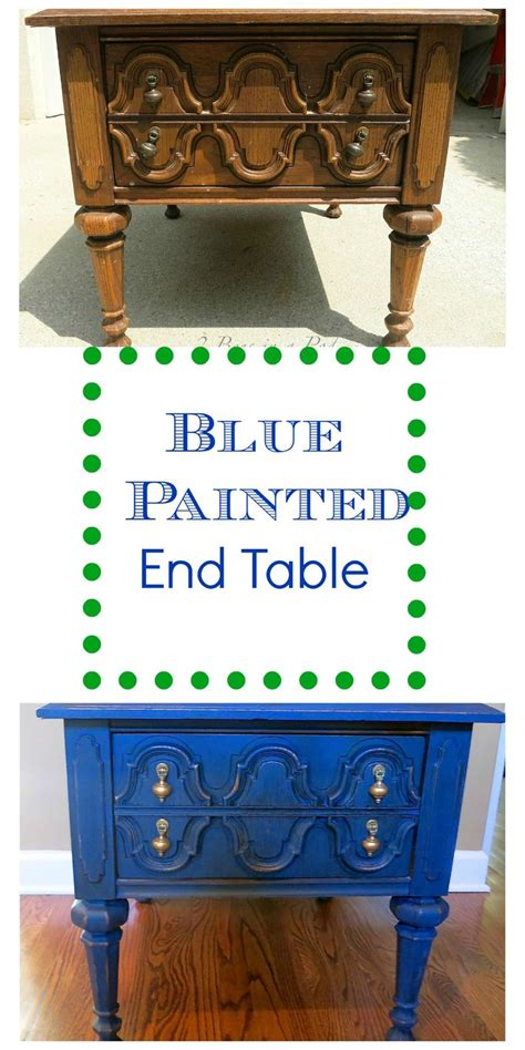 diy chalk paint pop 1000 ideas about painted end tables on