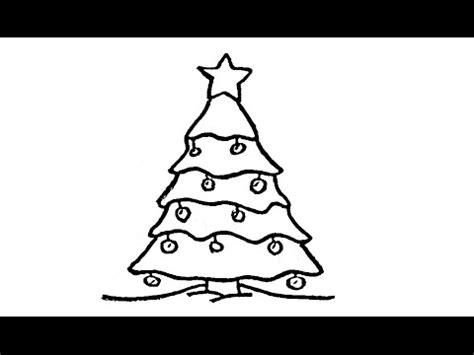 weihnachtsbaum zeichnen wie zeichnet einen weihnachtsbaum tutorial