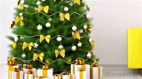 decorar arboles navidad decoraci 243 n 193 rbol de navidad amarillo tendencias decorar