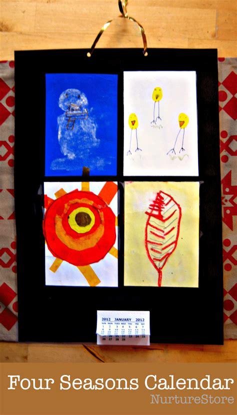 calendar craft for four seasons calendar