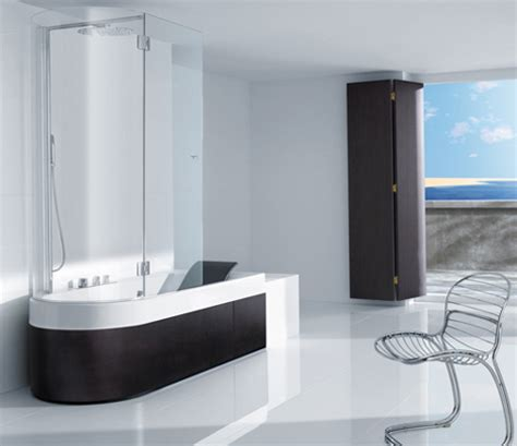 bath shower combination shower tub combination from roca happening combination