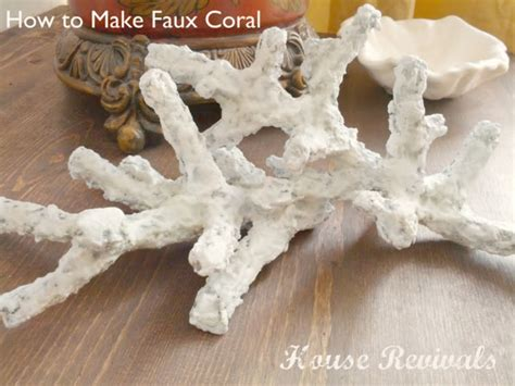 paper pulp craft my faux coral was created using paper mache pulp although