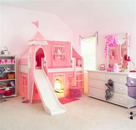 childrens beds with desk and slide room 4 interiors