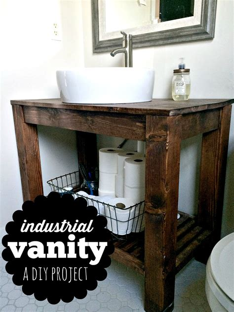 farmhouse bathroom vanities diy industrial farmhouse bathroom vanity industrial