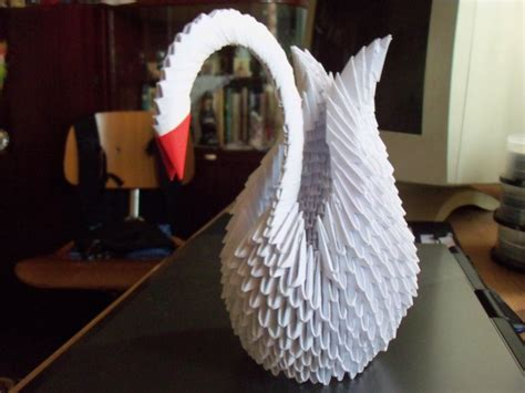 how to make a origami swan 3d 3d origami swan 06 by minakoazumi on deviantart