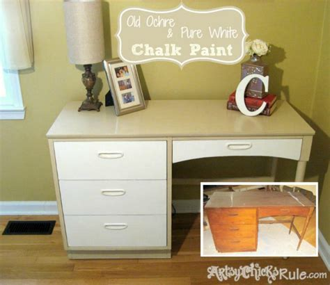 chalk paint executive desk a collection of quot before after quot furniture pieces artsy