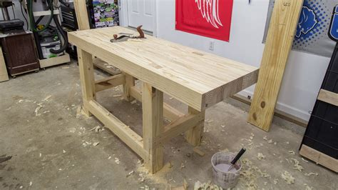 woodwork workbench build a woodworking workbench jays custom creations
