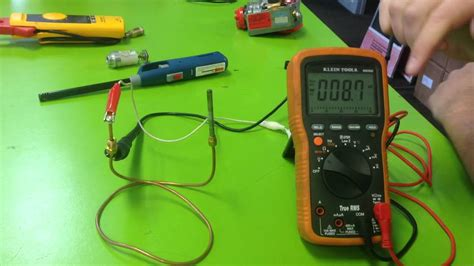how to test how to test a thermocouple with meter