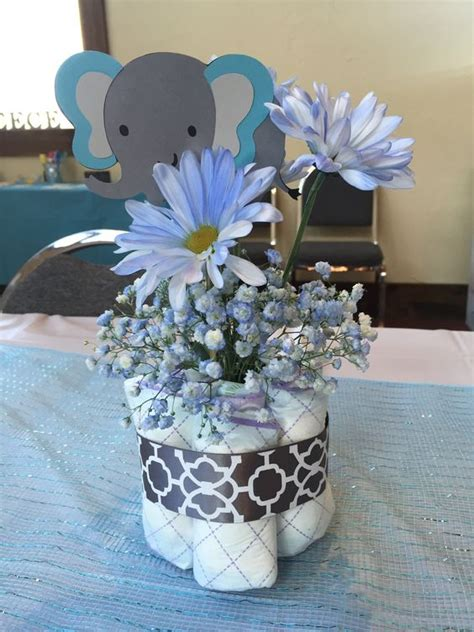 centerpiece for a baby shower 18 boys baby shower centerpieces you ll like shelterness