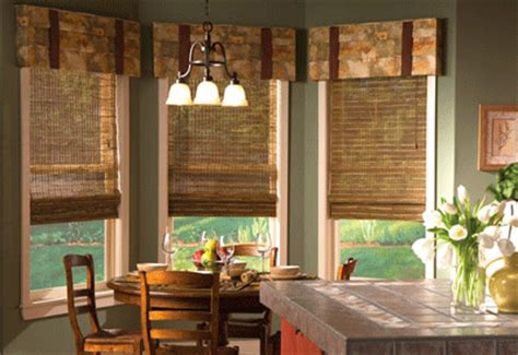 curtains for kitchen bay windows kitchen curtains smart window treatment ideas