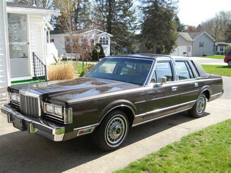 free auto repair manuals 1987 lincoln town car regenerative braking find used 1987 lincoln town car in belmont michigan united states