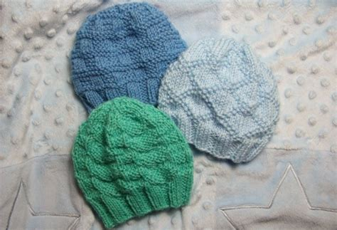 knit newborn baby hats free patterns textured baby hats for needles baby clothing
