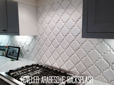 Install Bathroom Backsplash by Create Thrilling Ambience In Your Kitchen With Beveled