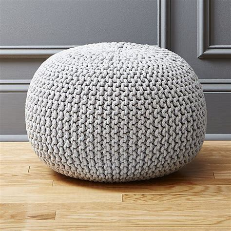 knitted poufs uk 25 best ideas about knitted pouf on knitted