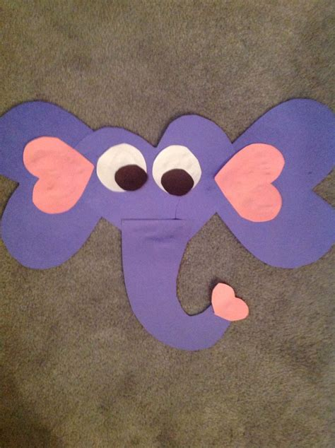 elephant paper craft elephant valentines day paper craft successful