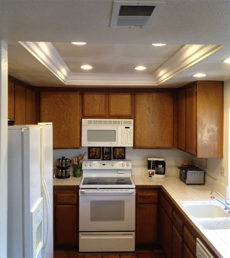pictures of recessed lighting in kitchen kitchen soffit lighting with recessed lights