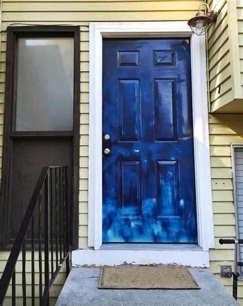 spray paint exterior door lizzy write house tour front door