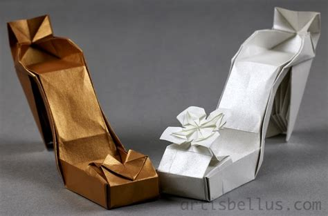 origami shoes fashion origami high heel shoes origami artis bellus