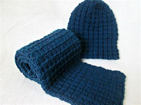 simple mens scarf knitting pattern mens hat and scarf knitting pattern easy hat and scarf