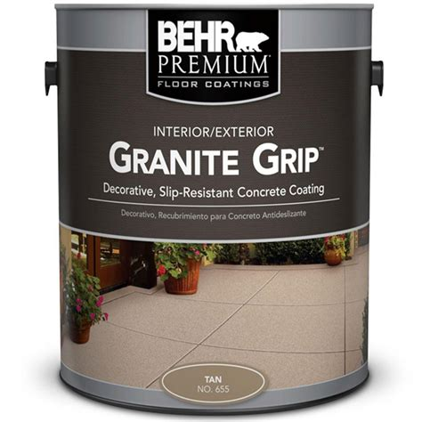 home depot paint colors and prices behr 1 gal 65501 granite grip interior exterior