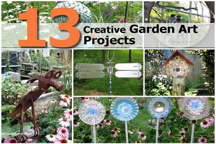 garden craft projects 13 creative garden projects