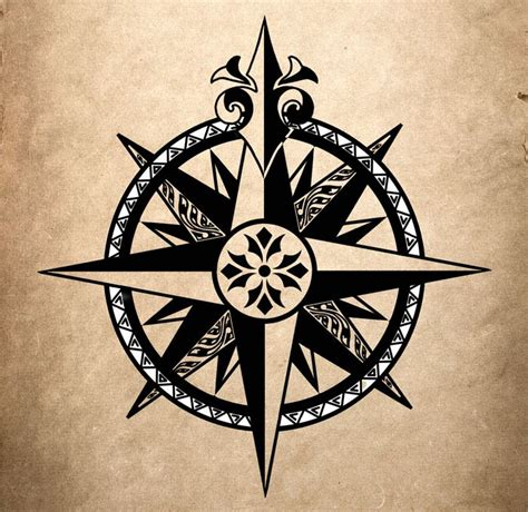 25 best compass tattoo design deviantart images on