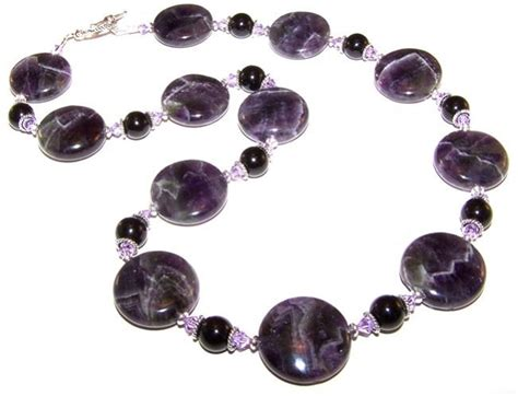 jewelry kits for enchanted amethyst necklace beaded jewelry kit