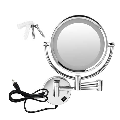 bathroom magnifying mirror with light bathroom magnifying mirror with light two sided led light